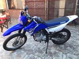 Vendo Yamaha XTZ 250cc, mod 2015, 13.027km reales, todos los papeles, lista para transferir.