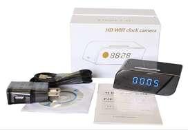 Cámara vigilancia en reloj digital wifi visión nocturna/Paga al recibir