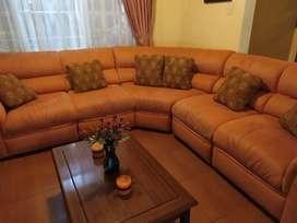 Muebles de sala como nuevos
