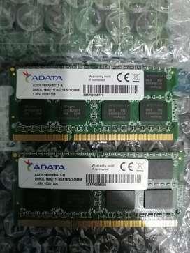 Memoria RAM DDR3 PC3L DDR3L ADATA 8GB 12800S