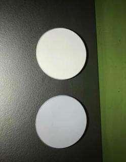 Tapas redondas paragolpes iveco tector y cursor