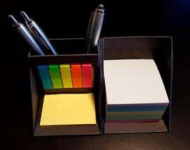 Set organizador de escritorio cubo