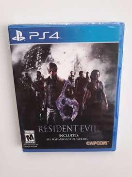 Evil Resident Evil 6 Juego Ps4 Nuevo Y Sellado