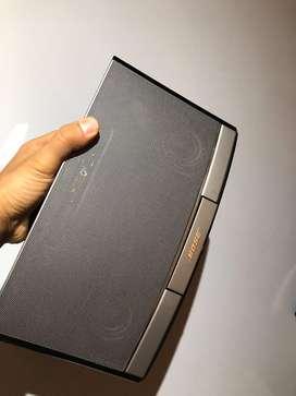 Parlante Bose portable recargable sounddock