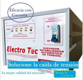 Elevador automático de tensión 14 kva