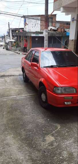 Vendo Mazda 323 barato mod 87