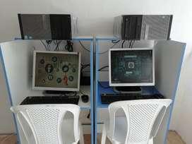 CYBERS 4 EQUIPOS CORE i3 PARA JUEGOS COS DISCO SSD DE 240