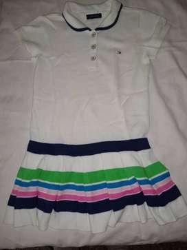 vestido tejido chemise importado hermoso