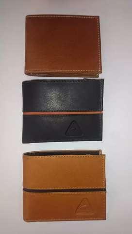 Billeteras para hombre 100% cuero, varios modelos