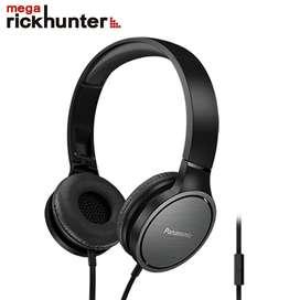 Audifonos Panasonic Powerful Rich Sound Handsfre hf500 negro