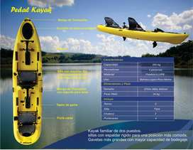 KAYAK DISCOVERY DOBLE PEDAL