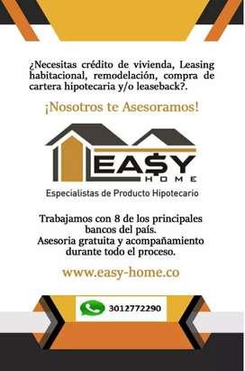 Asesoria Especializada Crédito Hipotecario