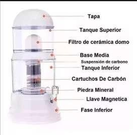 Filtro purificador de agua 14 litros oferta