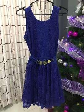 Vestido azull