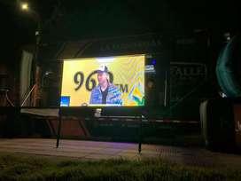 Vendo pantalla LED picht 3, 12 metros en perfectas condiciones