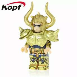 Figura tipo Lego Saint seiya caballeros del zodíaco
