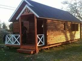 Cabaña de tronco