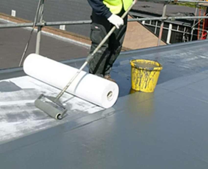 Goteras en techo o canaletas