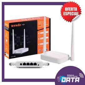 Router Repetidor Tenda Inalámbrico N301 Alto Rendimiento.
