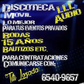 Disco Movil para Eventos
