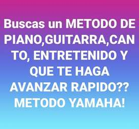 Clases de PIANO ORGANO GUITARRA CANTO ONLINE