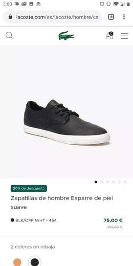 Zapatos Lacoste NUEVOS