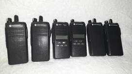 Radio Motorola Ep350 Vhf Uhf Remanofacturado