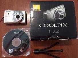 Cámara Digital Nikon Coolpix L22
