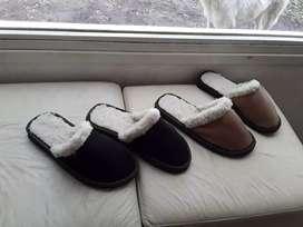 Pantuflas con corderito