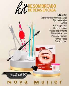 Sombreado de cejas kit