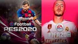 FIFA 2020 Y PES 2020 DIGITAL PARA XBOX 360 5.0