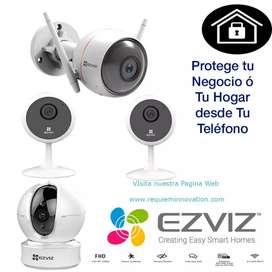 Instalaciones y configuración de cámaras de seguridad