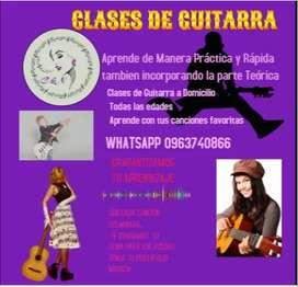 Clases de Guitarra para Niños y Adultos