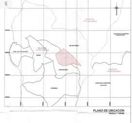 Venta de 1200 hectáreas en distrito de Coyllurqui, provincia de Cotabambas, Apurímac