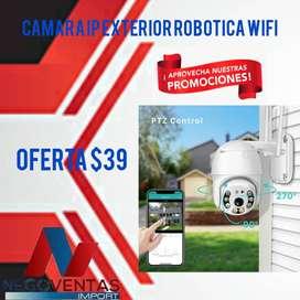CAMARA DE SEGURIDAD IP ROBOTICA EXTERIOR