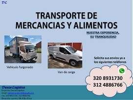Transporte - Mudanzas - Acarreos - Trasteos - Mercancía - Paquetes - Mensajería