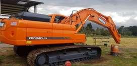 Vendo Excavadora doosan DX340