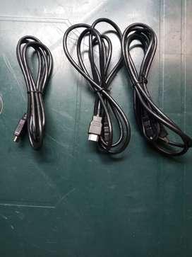 Vendo cables HDMI de 2 mts