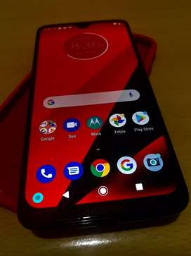 Vendo moto g7 plus impecable