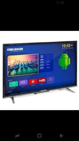 Tv Smartv de 43 Pugadas Challenger