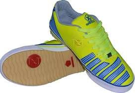 Zapatos Munich Grexca Fútsal Fútbol Salón Amarillo Diseño Antideslisante Amarrillo Azul Naranja