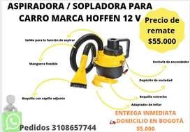 VENDO ASPIRADORA /SOPLADORA PARA CARRO HOFFEN 12 V