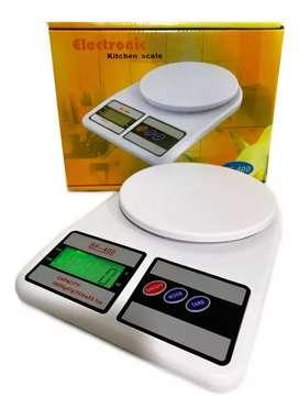 Balanza,Gramera pesa Digital 10000g Electrónic Kitchen Scale SF-400