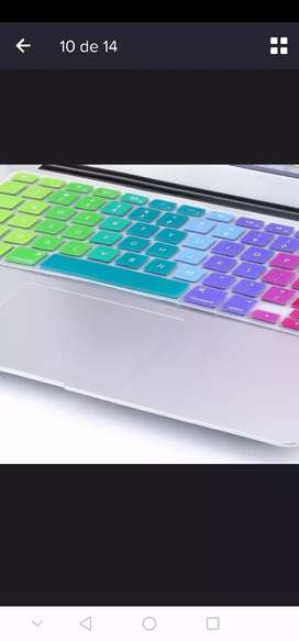Protector de teclado para macbook Air Aple 13