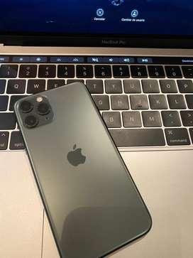 Oferta! Iphone 11 Pro Max de 64 gb Green con 98% de bateria! Igual a nuevo!