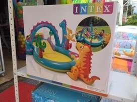 Piscina Centro de Juegos Inflable Dinosaurio
