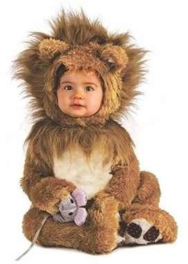 disfraz de leon para bb de un año