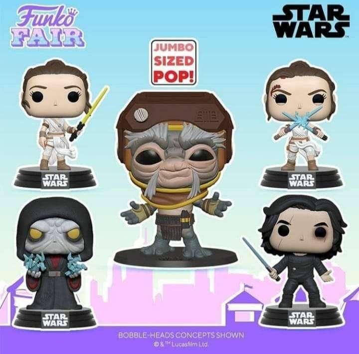 Funko Pop Star Wars Episodio 9 0