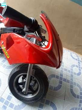 Mini moto ninja para niño