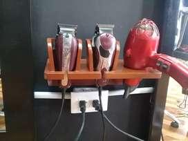 Bases para maquinas de cortar y secador.
